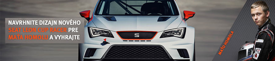 Design Mato Homola's SEAT Leon Cup Racer and win prizes!